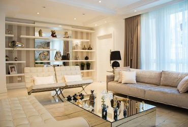 luxe woonkamer