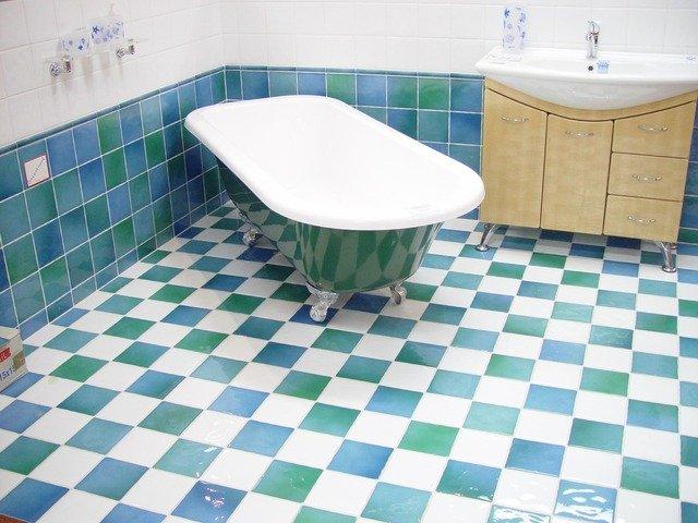 Badkamer jaren 30