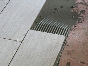 vloeren leggen